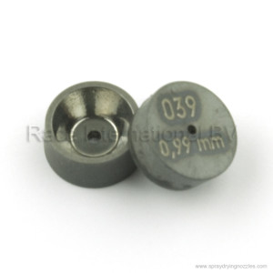 Orifice disc 039 0,99 mm front and backside spray drying nozzles