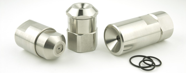 Original bodies and adapters spray drying nozzles