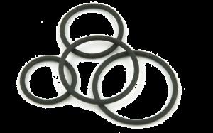O-rings spray drying nozzles
